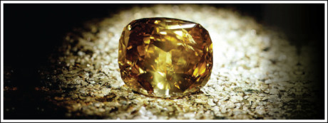The Golden Jubilee diamond was discovered in 1985 in South Africa and was given a papal blessing by Pope John Paul II