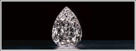 The Millennium Star diamond is the second largest colourless diamond with the highest colour rating