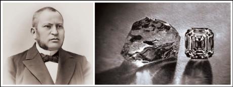 The Asscher diamond was first introduced by Joseph Asscher back in 1902
