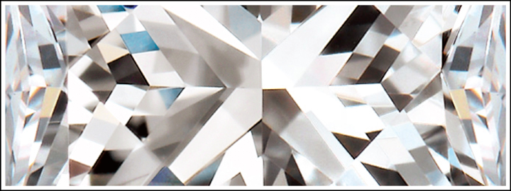 A facet is a flat surface on the geometric shape of the diamond
