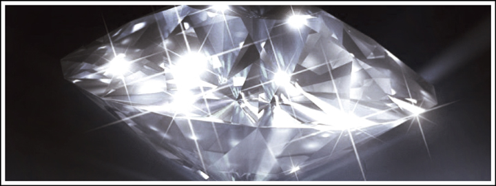 A diamond with the perfect symmetry and proportion will feature a lot of sparkle