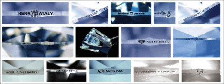 examples of inscribed messages on diamonds