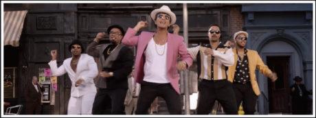 Bruno Mars music video screenshot