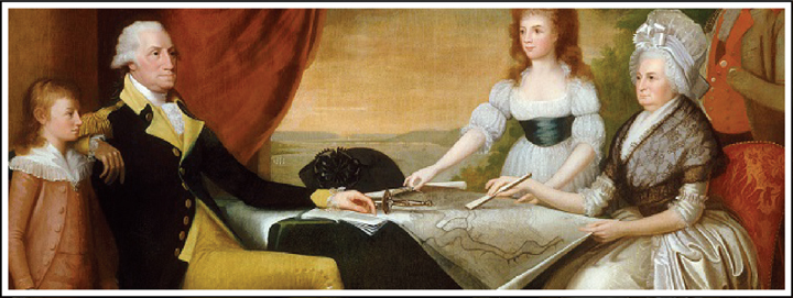 During George Washington time as president he gifted his wife with a lot of jewellery