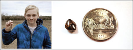 On 21 September, Colt Young of Arizona discovered an 8 pt. brown diamond.