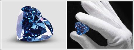Heart of Eternity Blue Diamond