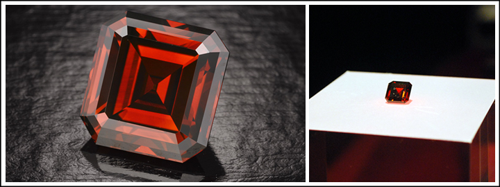 The Kazanjian Red Diamond | Cape Town Diamond Museum