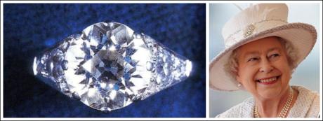 QUEEN ELIZABETH'S ELEGANT RING | CAPE TOWN DIAMOND MUSEUM