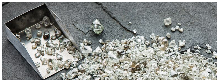 Diamond have been found in approximately 35 countries worldwide.