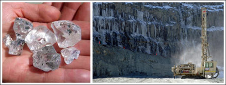Lesotho is known for producing large diamonds.