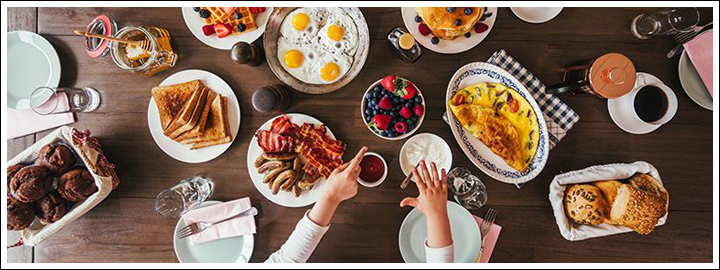 Surprise her with the best breakfast she has ever had.