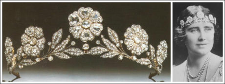 The Strathmore Rose tiara is said to compliment Meghan's unique style.