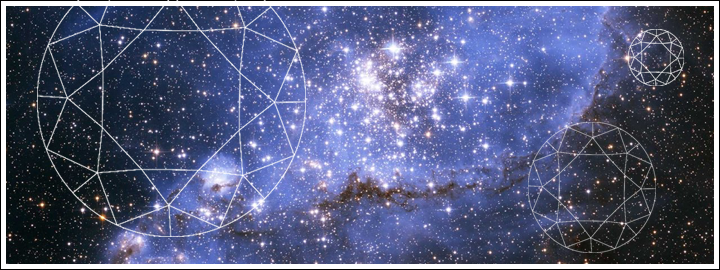 Scientists have revealed diamonds are the reason for the magical glow in the Milky Way.