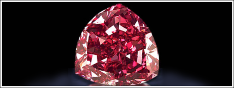 THE LARGEST RED DIAMOND EVER TO BE FOUND
