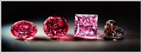 A RED DIAMOND CAN BE DESCRIBED USING THREE ATTRIBUTES