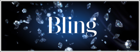 The word 'bling' originated from the hip-hop song, Friends by Tupac Shakur.