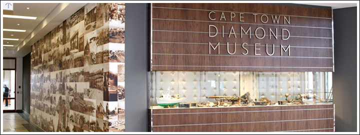 Experience the fascinating history of the diamond rush at the Cape Town Diamond Museum.