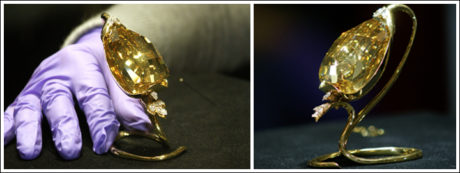 The world-renowned Golden Jubilee diamond.