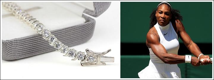 Secure your diamond tennis bracelet with a clasp
