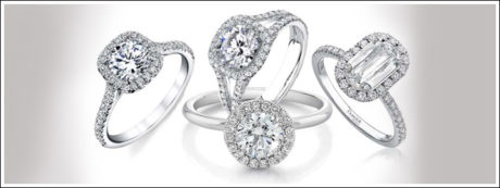 The halo setting has a remarkable way of making a diamond appear larger than its actual size