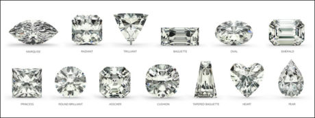 An emerald or oval cut diamond is predicted to be one of the most popular diamond cuts of 2019