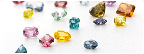 A colour diamond offers future brides and opportunity to express their own taste