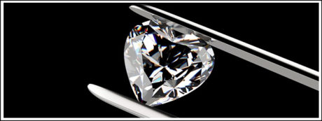 If you're buying a heart-shaped diamond, keep in mind that the size of the diamond will have an impact on the brilliance.