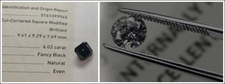 Discover the different types of black diamonds