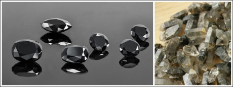 Black diamonds are known to have one colour intensity.