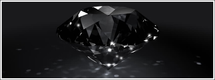 Black diamonds are filled with mystery and intrigue in their history and origin