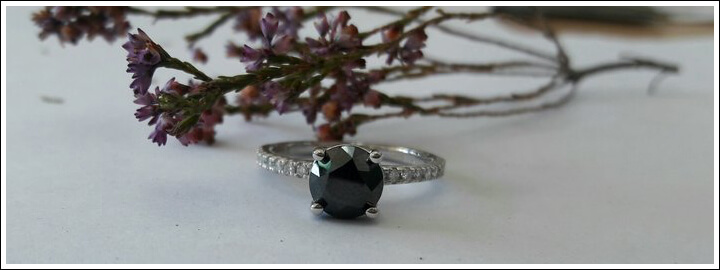 Black diamonds absorb light instead of reflecting it