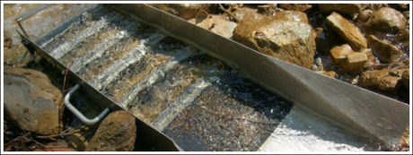 Black diamonds are only found in alluvial deposits