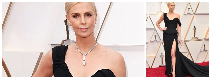 Charlize looked spectacular at the Oscar