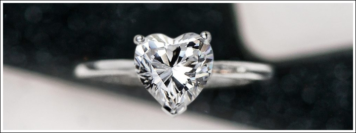 Heart-shape Diamonds